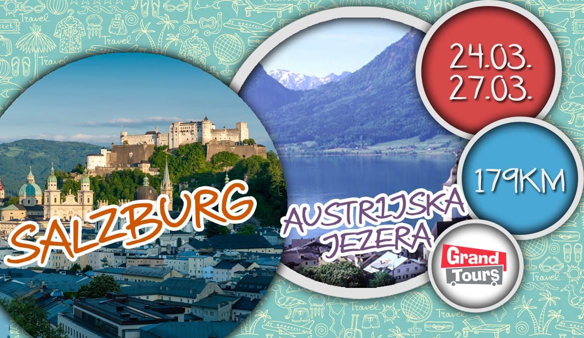 SALZBURG-AUSTRIJSKA-JEZERA